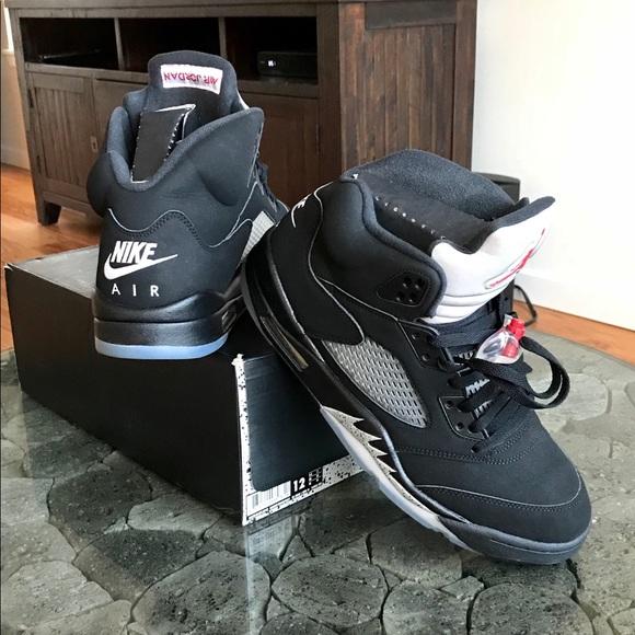 online store 26795 33888 Jordan Other - Air Jordan retro 5 black metallic